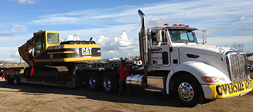 Low Loader Transport Los angeles, demolition service