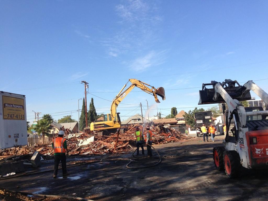 demolition contractors in Los Angeles